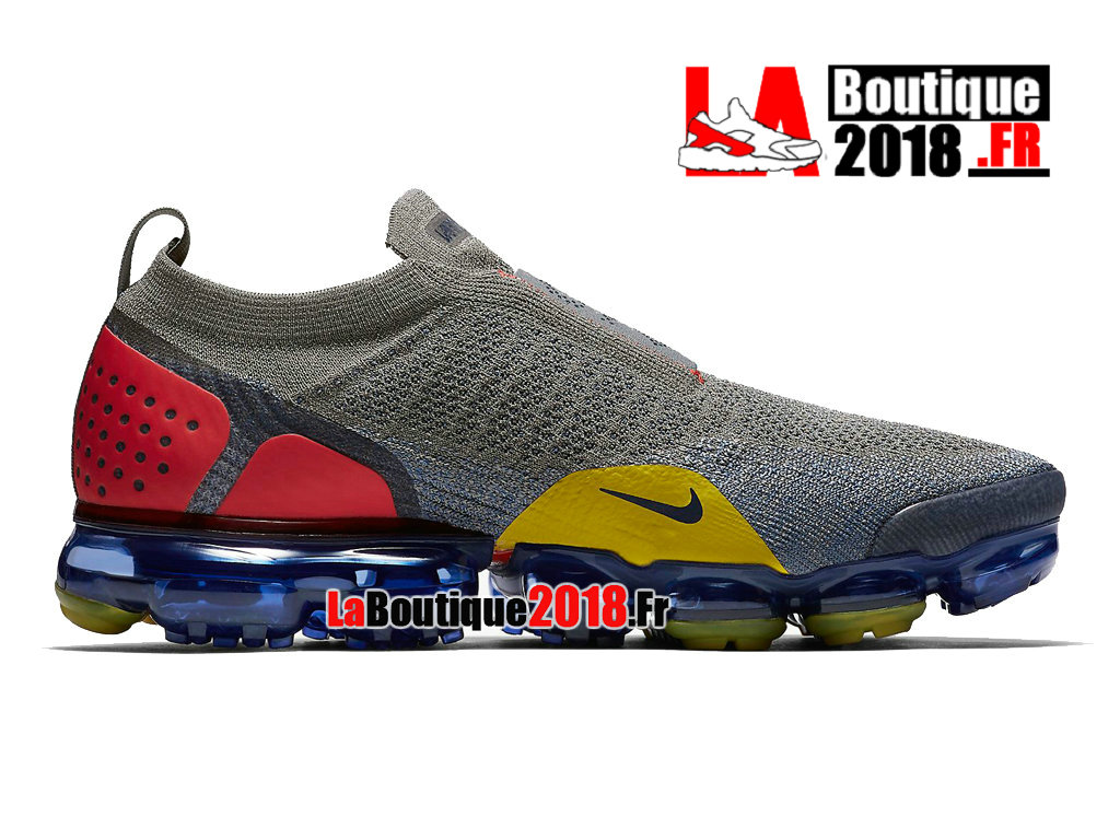 Officiel Nike Air VaporMax FK Moc 2 Dark Stucco Midnight Navy AH7006-004 Chaussure Nike Sneaker  Pas Cher Pour Homme