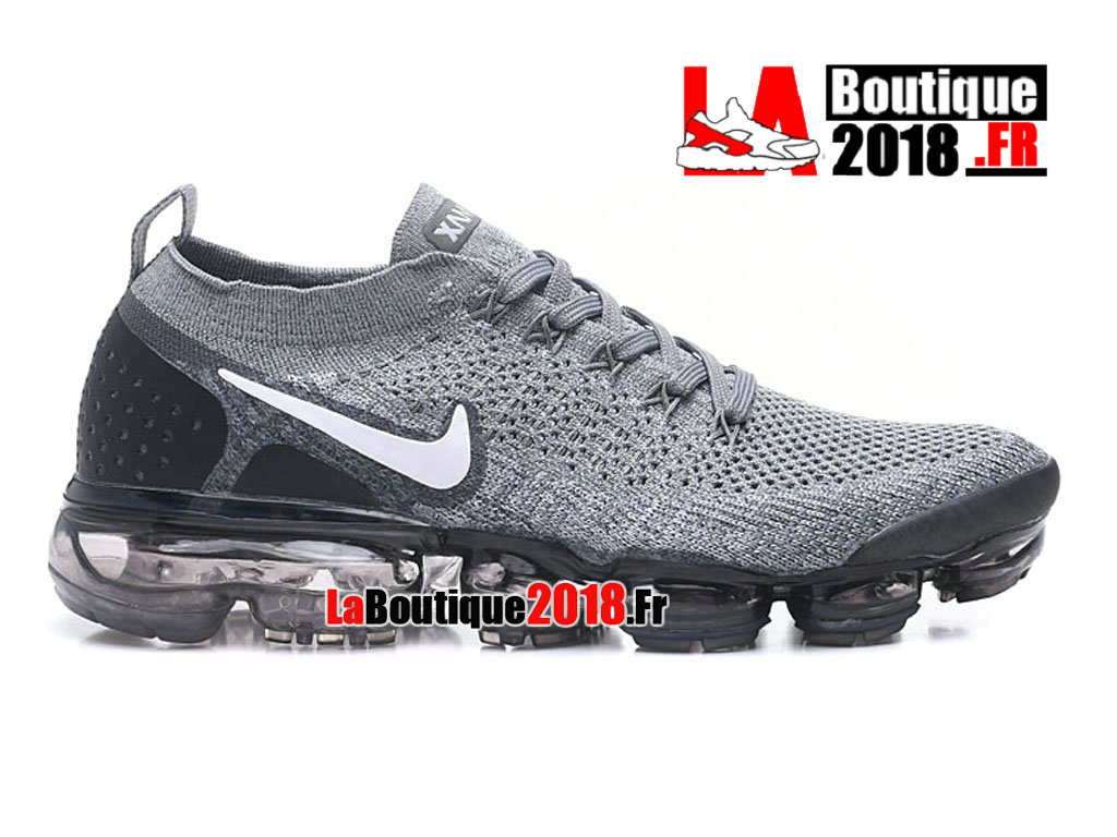 new concept 5b65c 1ef59 Official Nike Air VaporMax Flyknit 2. 0 Grey Black White 942842-030