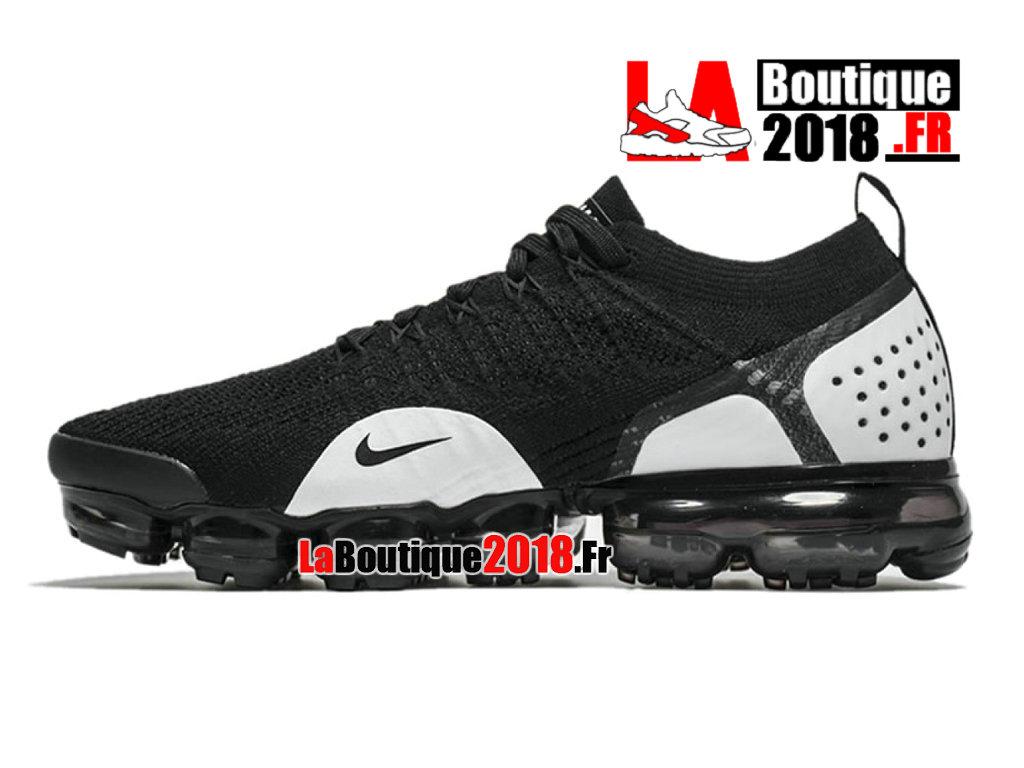 b003303672d ... Officiel Nike Air VaporMax Flyknit 2.0 2018 Noir Blanc 942842-010 Chaussure  Nike Sneaker ...