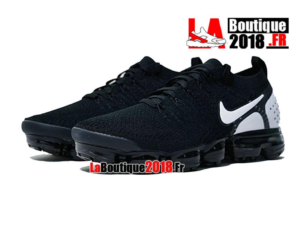 49630d2399832 ... Officiel Nike Air VaporMax Flyknit 2.0 2018 Noir Blanc 942842-010  Chaussure Nike Sneaker ...