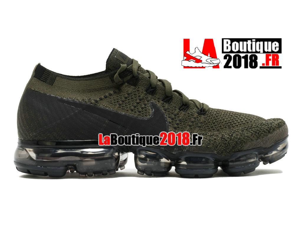 ee372a2f39d Official Nike Air Vapormax Flyknit - Men´s Nike Sneaker Shoe Black Green  849558