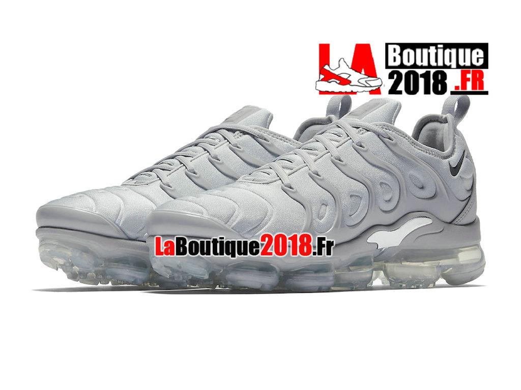 76ef8c91d8 ... Officiel Nike Air VaporMax Plus 2018 - Chaussures Nike Sneaker TN Prix  Pour Homme Gris froid ...