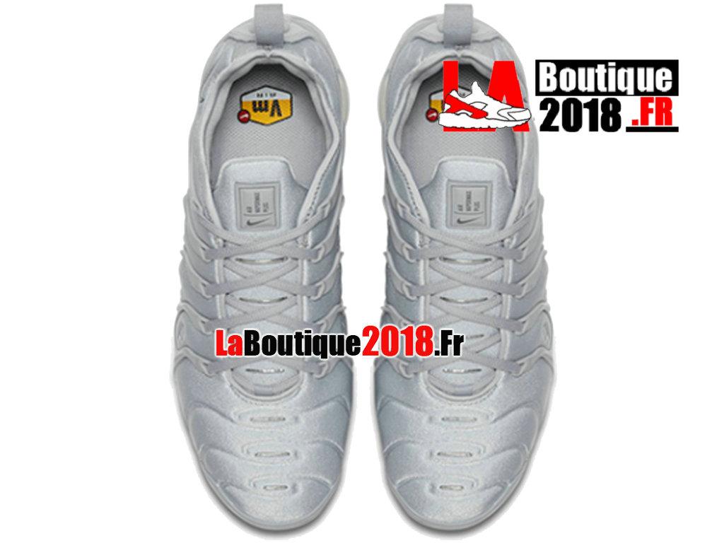 new style c64b5 a6ea5 ... Officiel Nike Air VaporMax Plus 2018 - Chaussures Nike Sneaker TN Prix  Pour Homme Gris froid ...