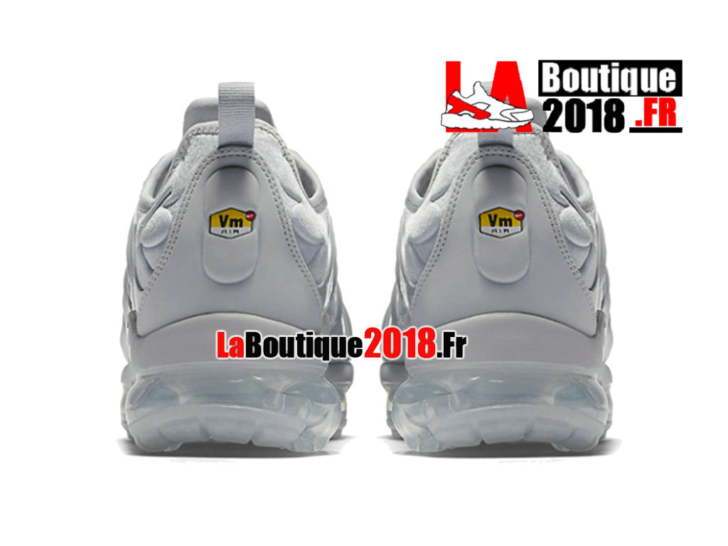 info for 6a292 80fa1 ... Officiel Nike Air VaporMax Plus 2018 - Chaussures Nike Sneaker TN Prix  Pour Homme Gris froid