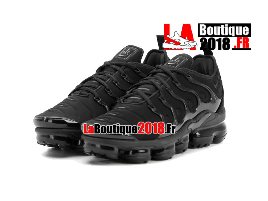 newest collection 0c889 9dc64 ... Officiel Nike Air VaporMax Plus 2018 - Chaussures Nike Sneaker TN Prix  Pour Homme Noir 924453 ...