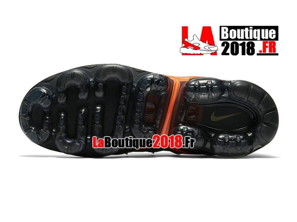 93e7d70598d ... Officiel Nike Air VaporMax Plus 2018 - Chaussures Nike Sneaker TN Prix  Pour Homme Noir Vert ...