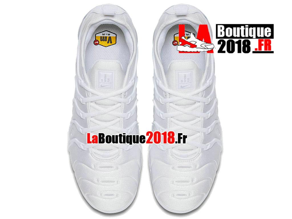 Nike Air VaporMax Plus 2018 Chaussures Nike TN Prix Pour Homme Triple Blanc 924453 100 Nike Sneaker Prix Officiel site En France