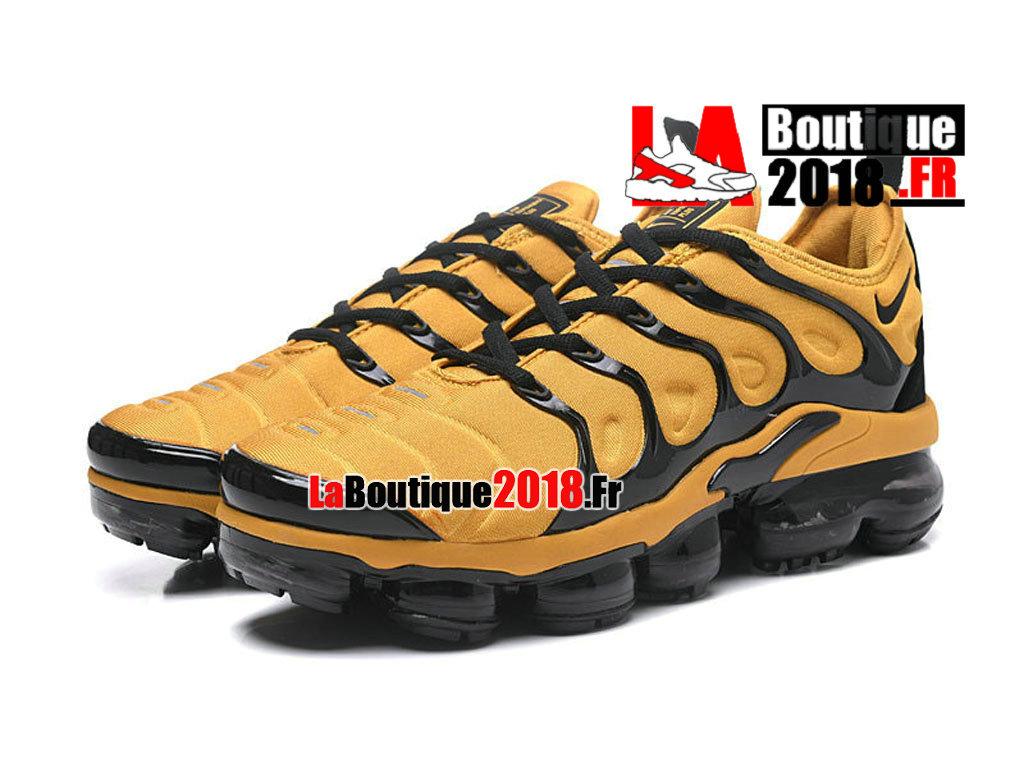 c771a2764c ... Officiel Nike Air VaporMax Plus - Chaussures Nike Sneaker Prix Pour  Homme Noir Jaune AO4550- ...