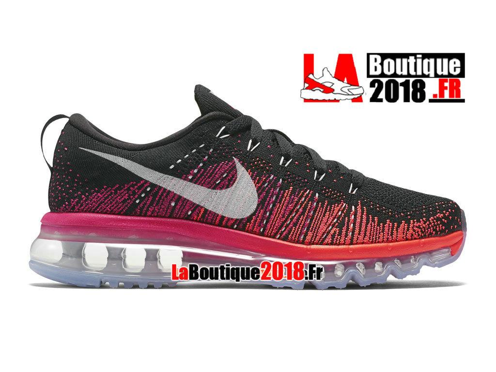 Officiel Nike Flyknit Air Max GS BlancBleu grisGris Loup