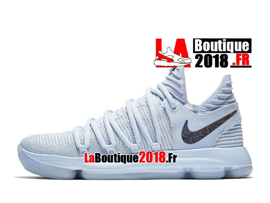online retailer f67e4 dd9e6 ... Official Nike KD 10 Anniversary Photos Bleu Noir 897817-900 Men´s  Basketball ...