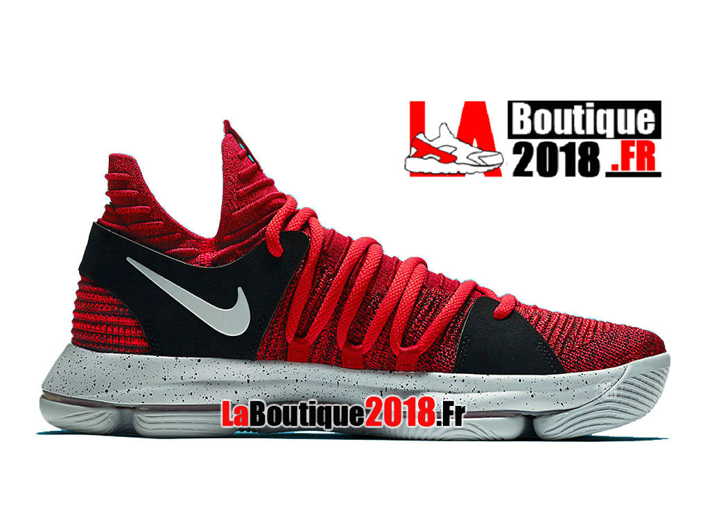 pas cher pour réduction 0e064 32137 Men´s Nike KD 10 BasketBall Shoes University Red Black 897816-600-Nike  Sneaker Prix Official Site France