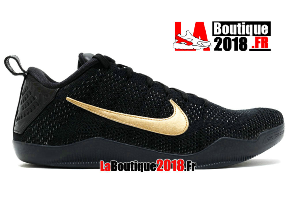 "Officiel Nike Kobe 11 Elite Low Ftb ""fade To Black"" 869459-001 Chaussure Nike Sneaker Pas Cher Pour Homme"