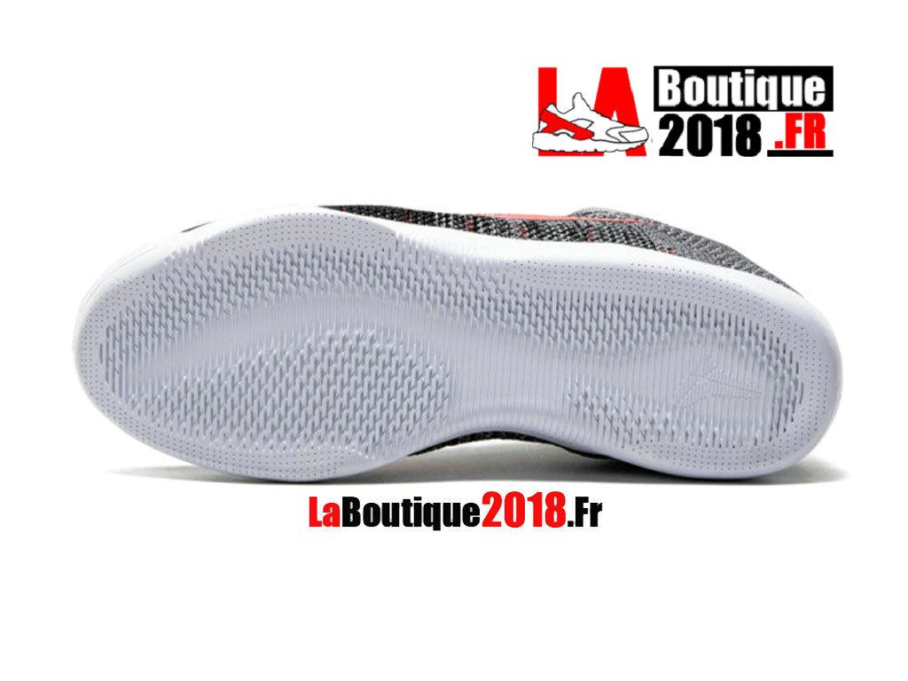 Nike Kobe 11 Elite Low Tinker Muse GrisNoirRouge 822675