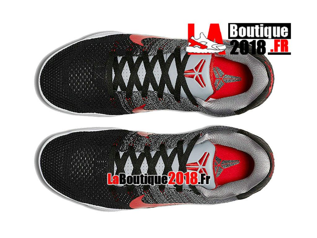 ... Officiel Nike Kobe 11 Elite Low Tinker Muse Gris Noir Rouge 822675-060  ... cad506efb