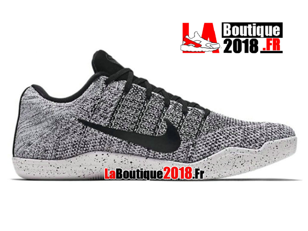 b5a2e4fb1f3 Official Nike Kobe 11 Oreo Elite Release Date Gray Black 822675-100 Men´