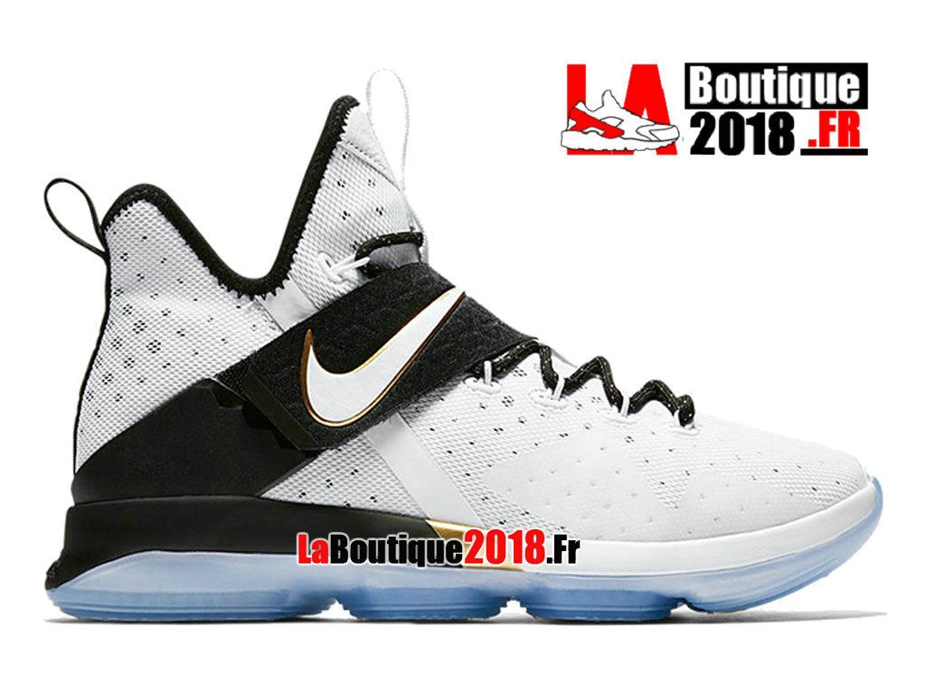 Officiel Nike LeBron 14 BHM Release Date 860634-100 Chaussures Nike Sneaker Prix Pour Homme