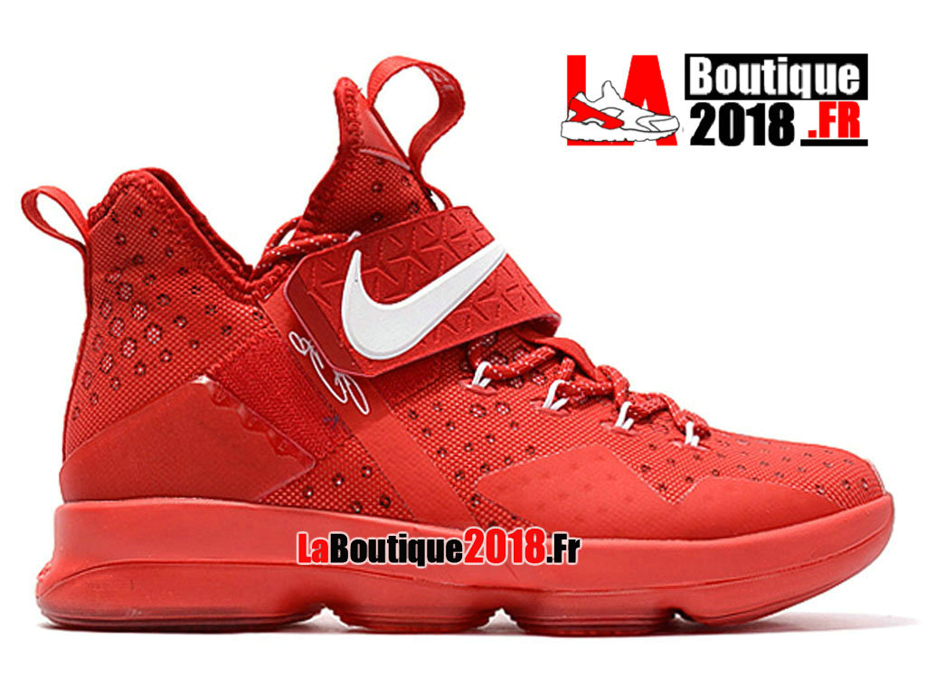 Officiel Nike LeBron 14 Grande Apple Rojo Blanco 860634_A007 Chaussures Nike Sneaker Prix Pour Homme