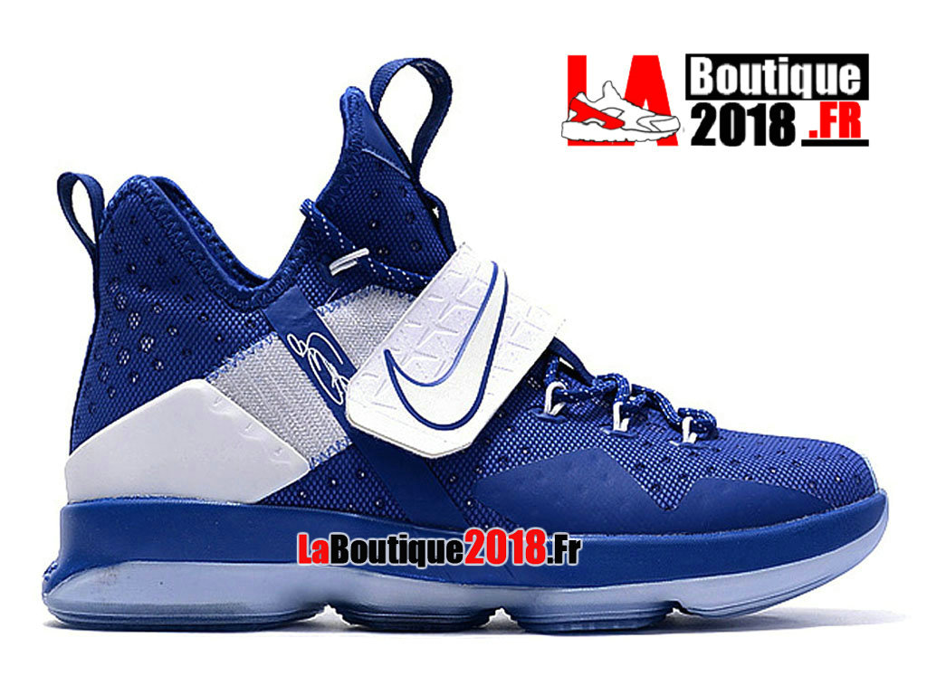 Officiel Nike LeBron 14 Kentucky Azul Blanco 860634_A003 Chaussures Nike Sneaker Prix Pour Homme