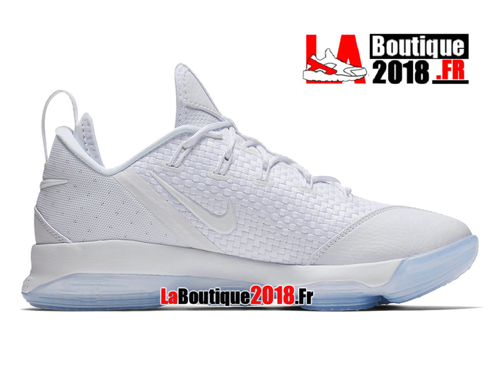 Officiel Nike LeBron 14 Low White Lce Blue 878635-101 Chaussures Nike Sneaker Prix Pour Homme
