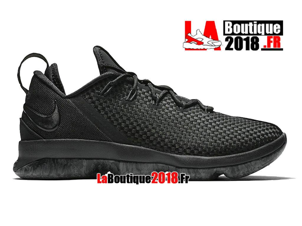 07f0ab91ca05b Official Nike LeBron 14 XIV Triple Black Dark Grey 878636-002 Men´s Nike