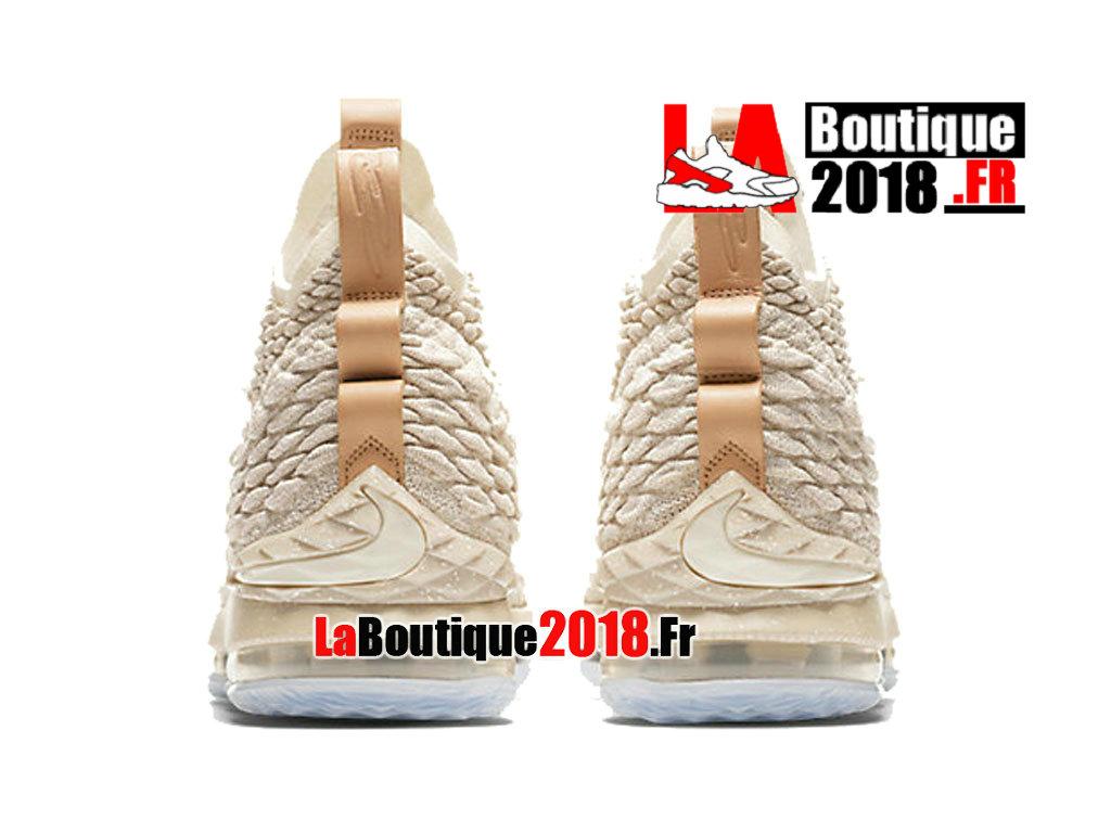 8bd147dc4d2b ... Official Nike LeBron 15 Ghost Beige 897648-200 Men´s Basketball Nike  Sneaker Shoe