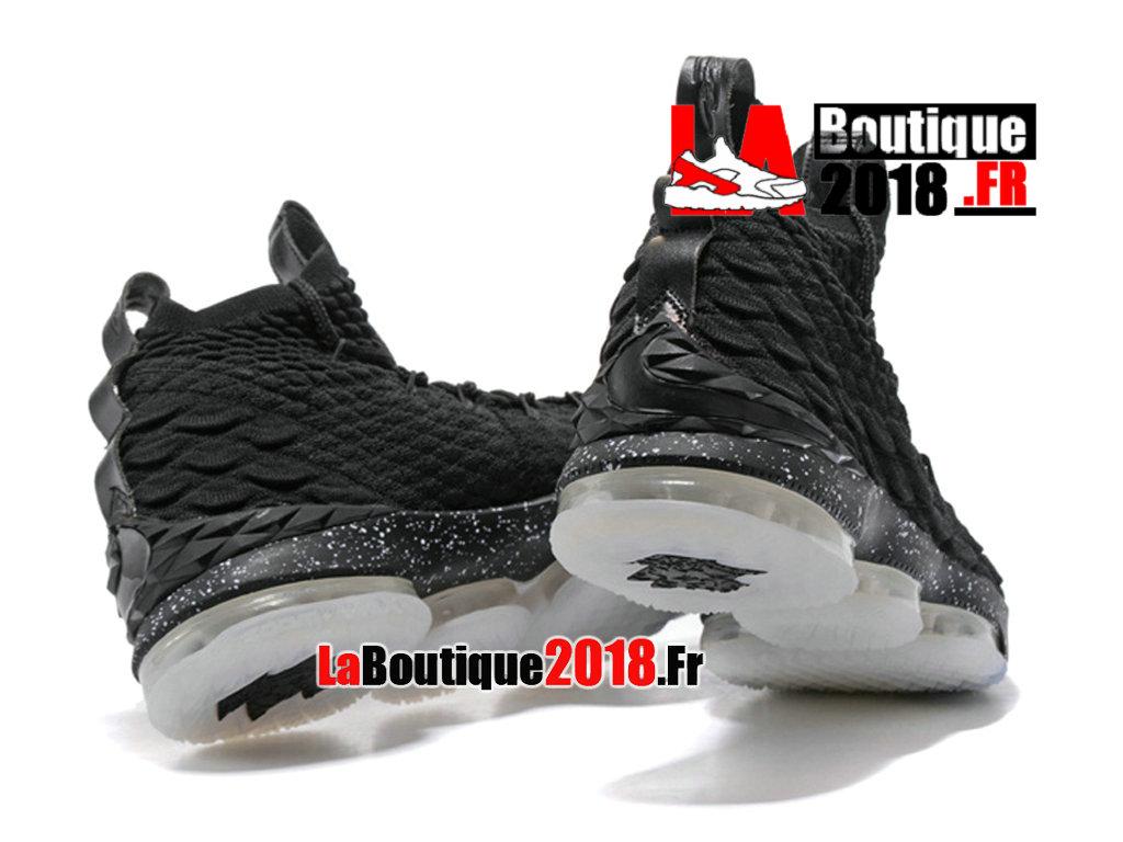 official photos 68313 7d981 ... Officiel Nike LeBron 15 Noir Chaussure Basket Nike Sneaker Pas Cher  Pour Homme ...