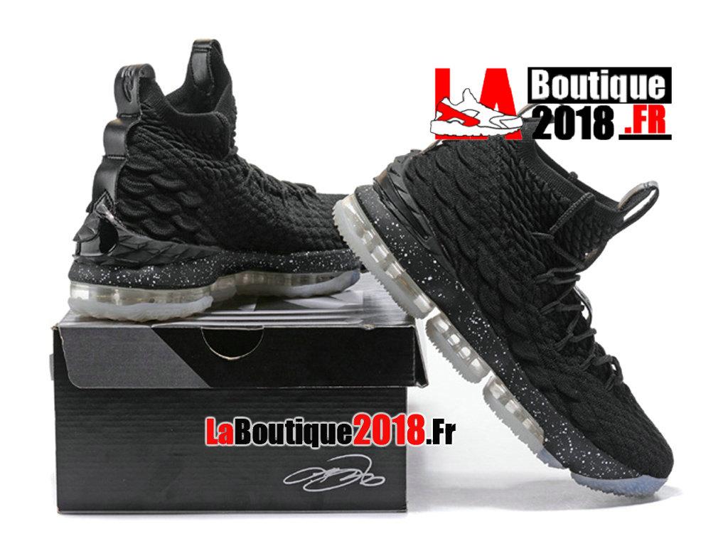 340325db9d1 ... Officiel Nike LeBron 15 Noir Chaussure Basket Nike Sneaker Pas Cher Pour  Homme ...