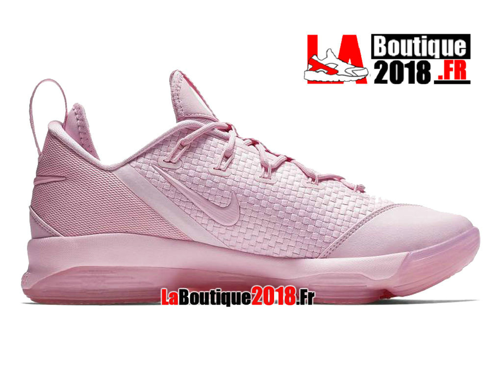Officiel Nike Lebron XIV Low Prism Pink 878636-600 Chaussures Nike Sneaker Prix Pour Homme
