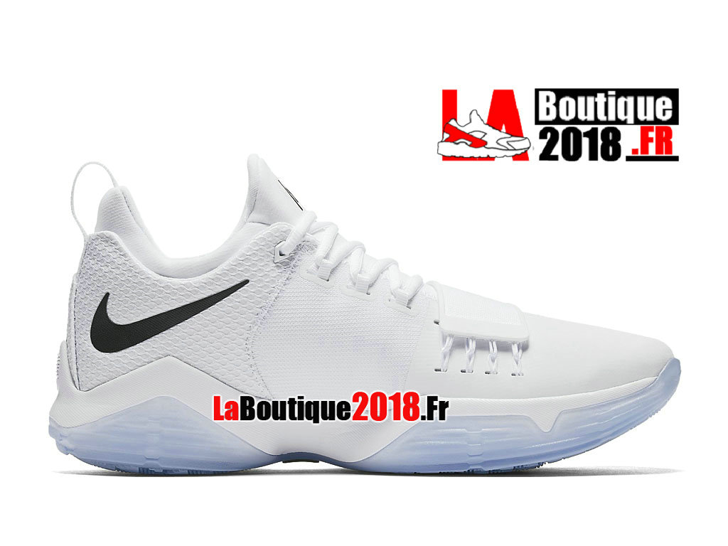 3cd224c2472f Official Nike PG 1 White Lce 878627-100 Men´s Nike Basketball Prix Shoes