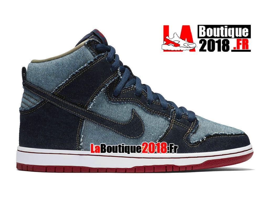 finest selection 827f0 6672b Official Nike SB Dunk High Pro OG (GS) - Nike Unisex Sneaker Shoe (