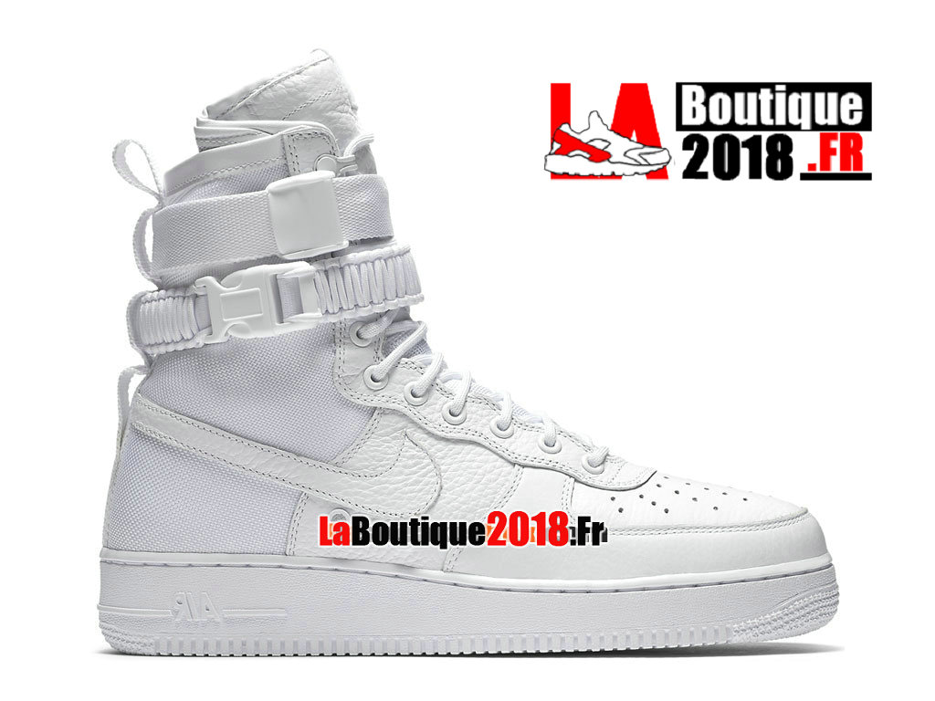 Officiel Nike Special Field (SF) Air Force 1 - Chaussures et Sneaker LifeStyle Nike Pas Cher Pour Homme Blanc 903270-100