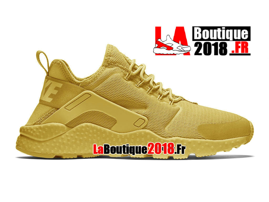 Officiel Nike Wmns Air Huarache Ultra (Nike iD) - Chaussures Nike Sneaker Pas Cher Pour Femme/Enfant Or canyon/Or université/Or canyon 819151-991