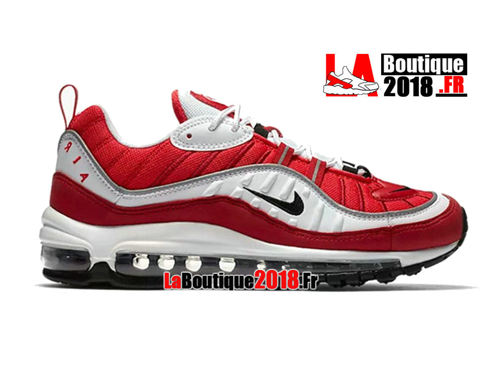 Official Nike Wmns Air Max 98 GS - Women´s/Kids´ Nike Sneaker Shoe Gym Red AH6799 101