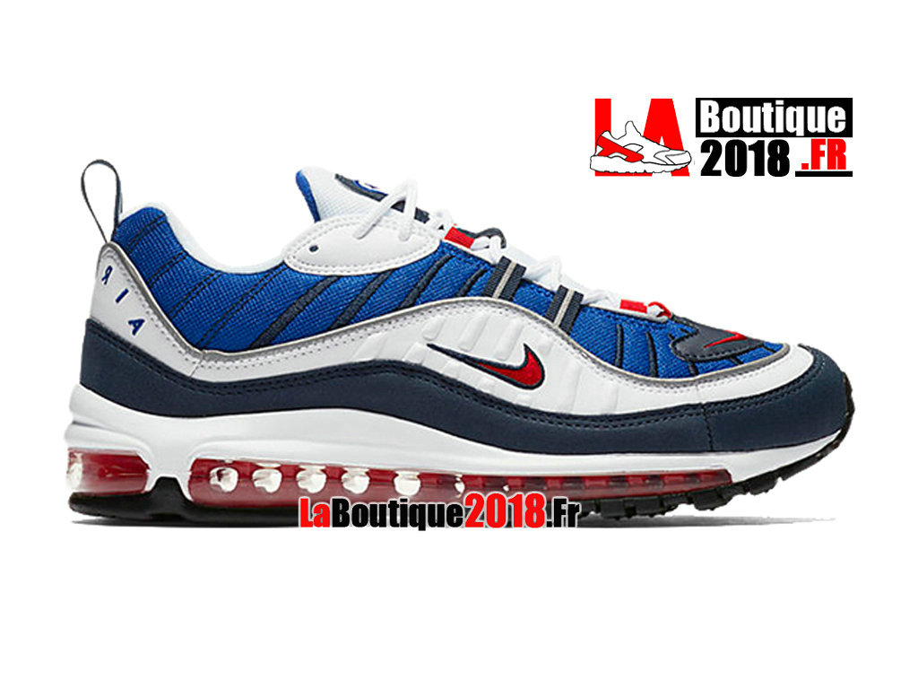 Official Nike Wmns Air Max 98 Qs Gundam  - Women´s/Kids´ Nike Sneaker Shoe White/University Red/Obsidian 640744-100