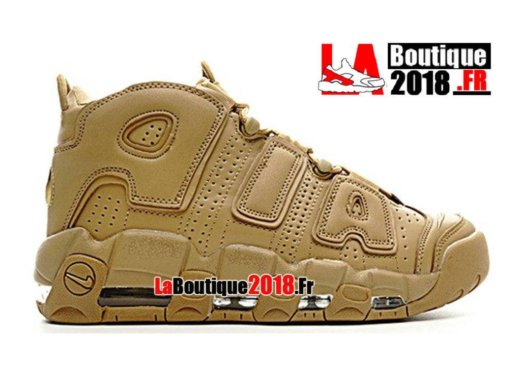 new style 0fa7f 5148f Official Nike Wmns Air More Uptempo GS Flax Gum AA4060-200 Women´s