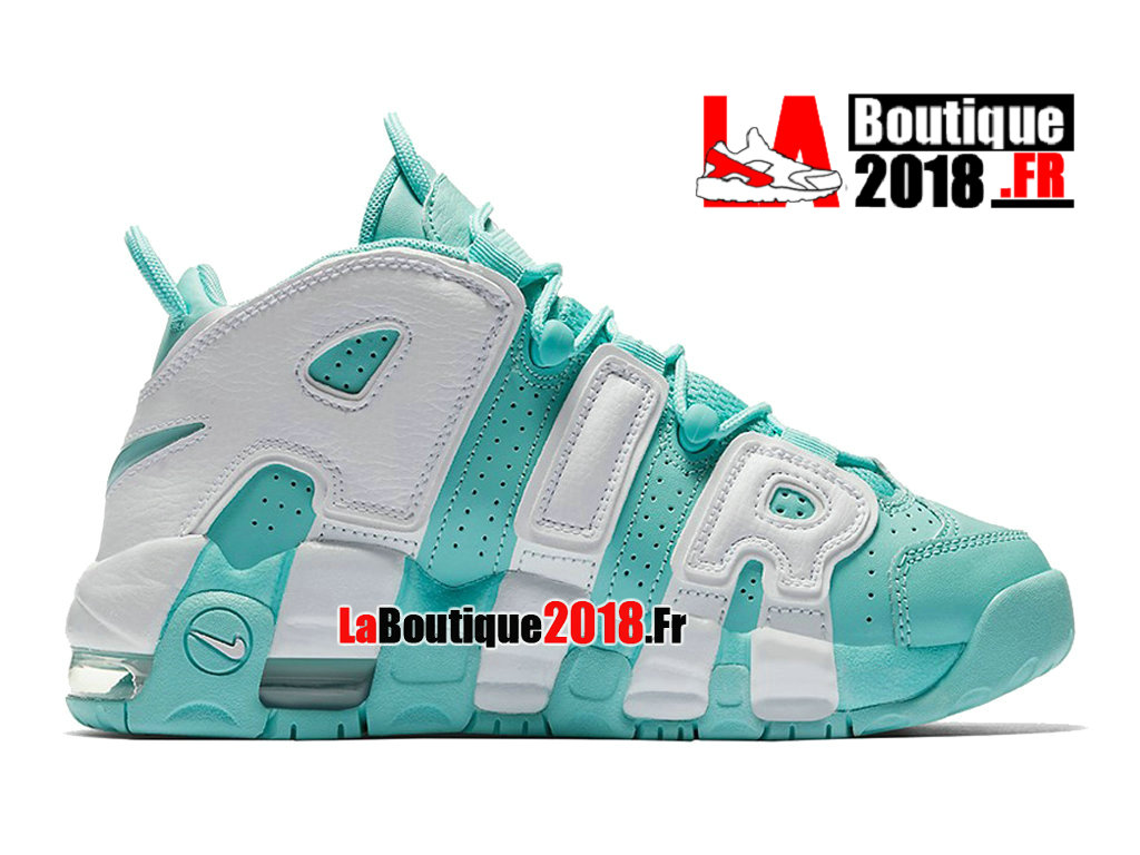 Officiel Nike Wmns Air More Uptempo GS Island Green Release Date 415082-300 Chaussures Nike Sneaker Pas Cher Pour Femme/Enfant