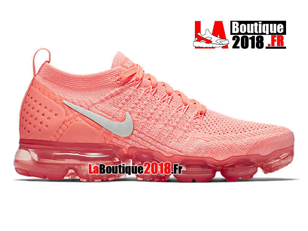 new styles f8142 5e4ff Officiel Nike WMNS Air Vapormax 2 Crimson Pulse 942843-800 Chaussure Nike  Sneaker Pas Cher