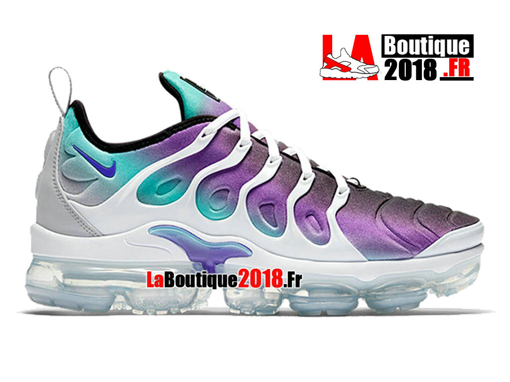 sale retailer a6773 1bee0 Officiel Nike WMNS Air VaporMax Plus Grape 924453-101 Chaussures Nike  Sneaker Pas Cher Pour