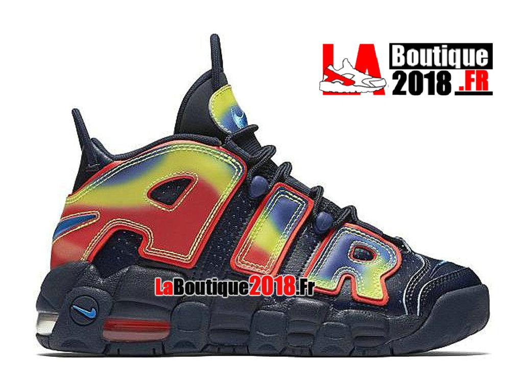 wholesale dealer 86ddb 7a281 Officiel Nike Wmns More Uptempo QS Sneaker Navy 847652-400 Chaussures Nike  Sneaker Pas Cher