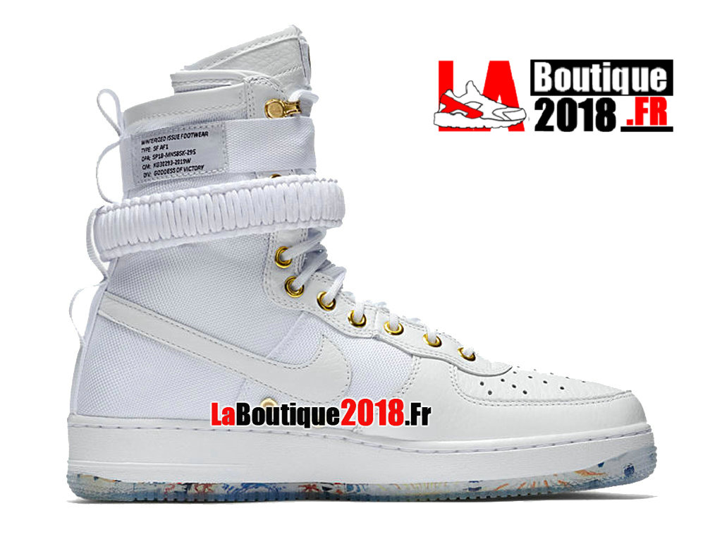 Officiel Nike Wmns SF Air Force 1 Lunar New Year White AO9385-100 Chaussure Nike Sneaker Pas Cher Pour Femme/Enfant