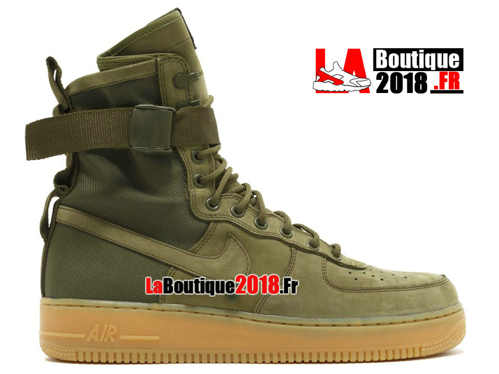 online store 97fe6 12170 Officiel Nike Wmns Special Field Air Force 1 Green Brown 859202-339 Women´