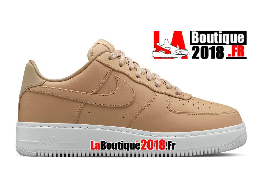 00afc77e99 Officiel NikeLab Air Force 1 Low - Chaussure Nike Sneaker Pas Cher Pour  Homme Brun vachette