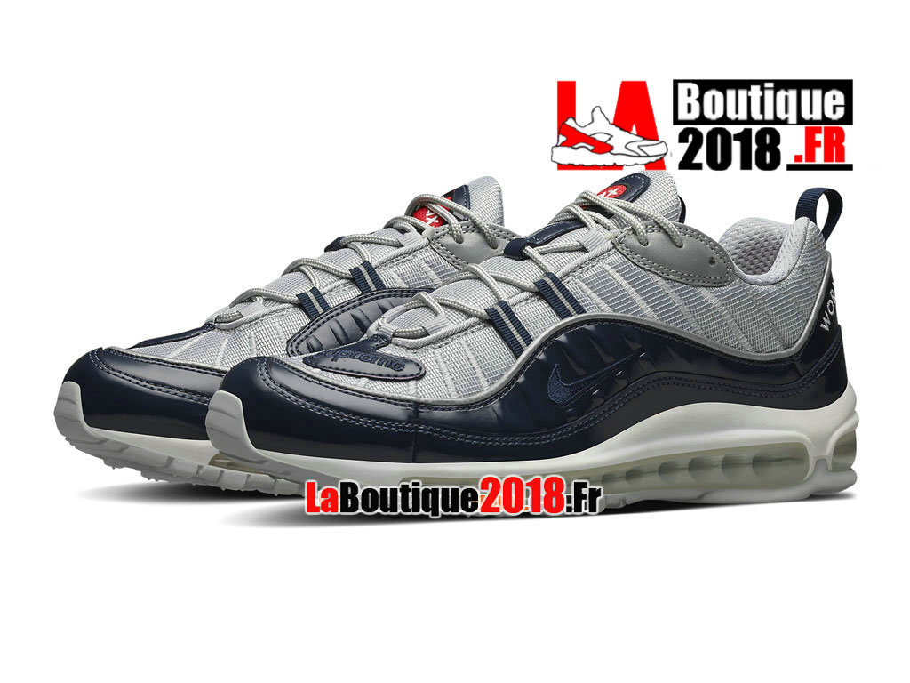 Supreme x Nike Air Max 98 Chaussures Nike Boutique Pas
