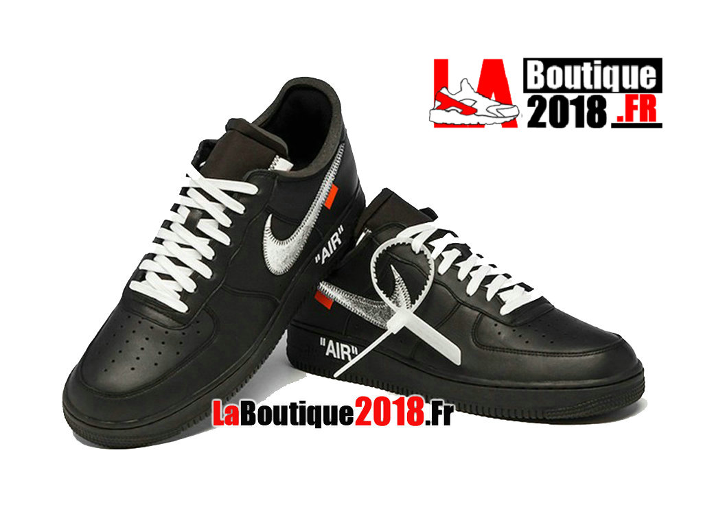 Officiel Virgil Abloh Off-white x Nike Air Force 1 Low MoMa AV5210-001 Chaussures Nike Sneaker Pas Cher Pour Homme